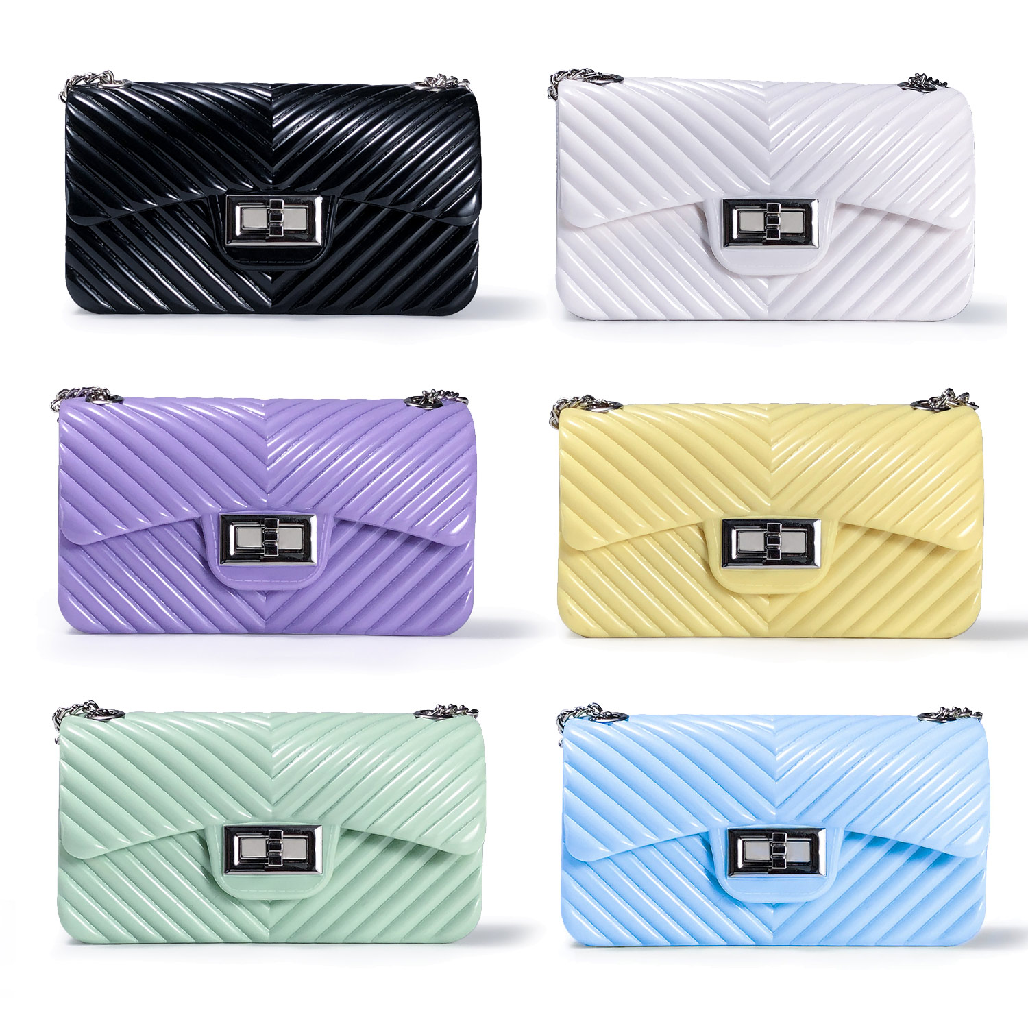 2020 New arrivals hand bags jelly purses women purses and handbags